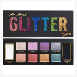 [Too Faced] Glitter Bomb Eyeshadow Palette